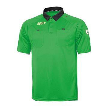 Afbeeldingen van Robey Referee Scheidsrechter Shirt - Groen