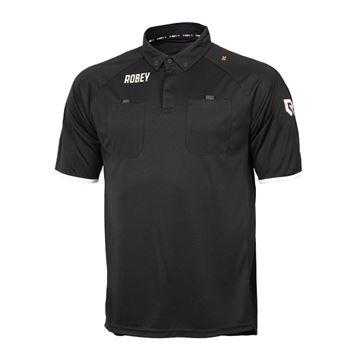 Afbeeldingen van Robey Referee Scheidsrechter Shirt - Zwart