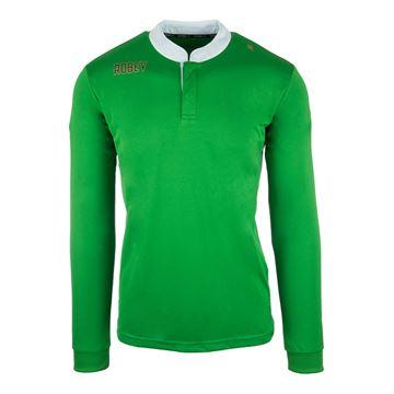 Afbeeldingen van Robey Kick Off Shirt Voetbalshirt - Groen (Lange Mouwen)