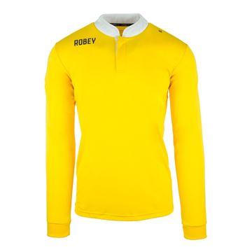 Afbeeldingen van Robey Kick Off Shirt Voetbalshirt - Geel (Lange Mouwen)