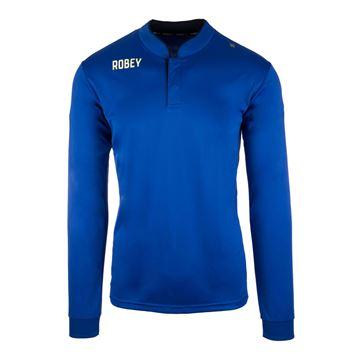 Afbeeldingen van Robey Kick Off Voetbalshirt - Navy Blauw (Lange Mouwen)