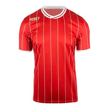 Afbeeldingen van Robey Pinstripe Voetbalshirt - Rood