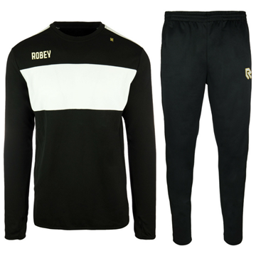 Afbeeldingen van Robey Sweat Performance Trainingspak - Zwart/Wit