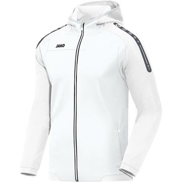 Afbeeldingen van JAKO Hooded Champ Trainingsjack - Wit