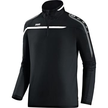 Afbeeldingen van JAKO Performance Zip Training Top - Zwart