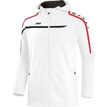 Afbeeldingen van JAKO Performance Hooded Trainingsjack - Wit