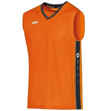 Afbeeldingen van JAKO Center Basketbal Shirt - Oranje