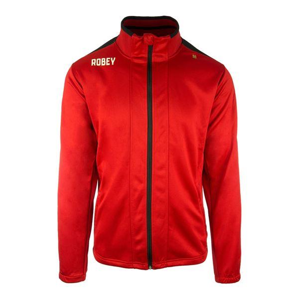 Afbeelding van Robey Performance Trainingsjack - Rood/Zwart - Kinderen