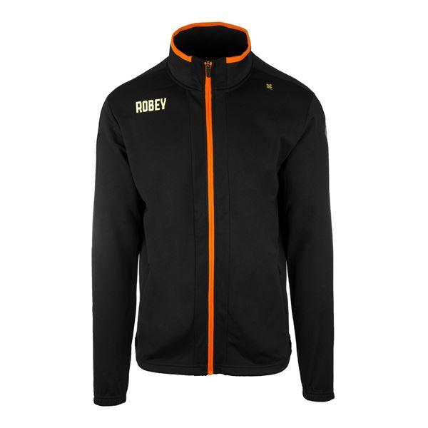 Afbeelding van Robey Performance Trainingsjack - Zwart/Oranje - Kinderen