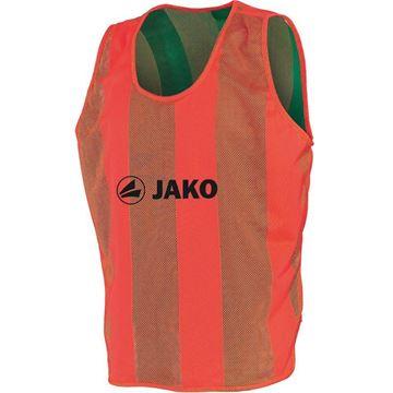 Afbeeldingen van JAKO Omkeerbare Hesje - Oranje - Groen