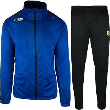 Afbeeldingen van Robey Performance  Trainingspak - Blauw - Zwart