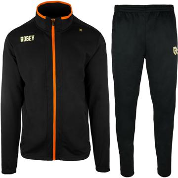 Afbeeldingen van Robey Performance Trainingspak - Zwart - Oranje