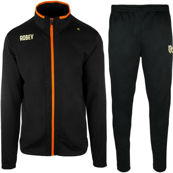 Afbeelding van Robey Performance Trainingspak - Zwart - Oranje