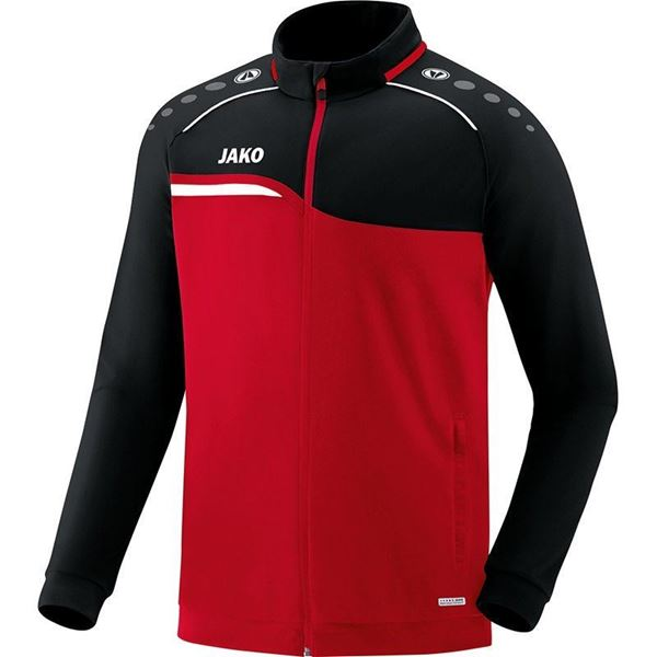 Afbeelding van JAKO Competition Polyestervest - Rood - Zwart