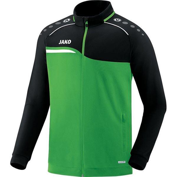 Afbeelding van JAKO Competition Polyestervest - Groen - Zwart