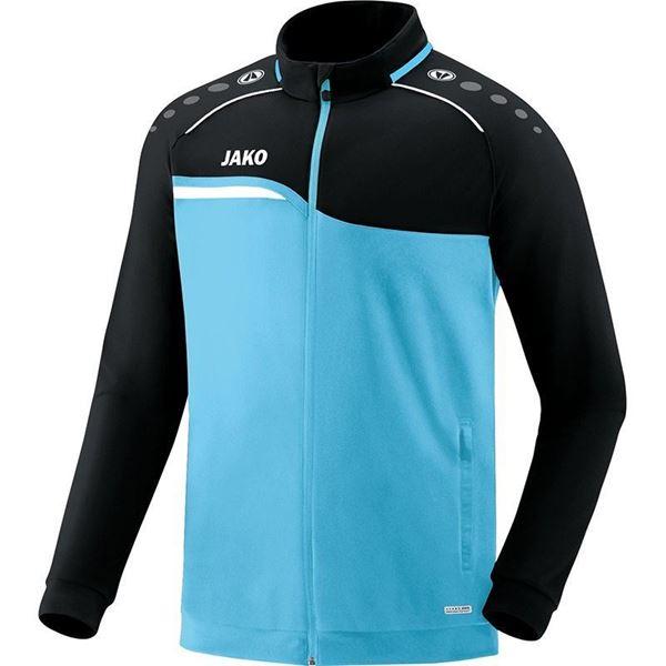 Afbeelding van JAKO Competition Polyestervest - Lichtblauw - Zwart