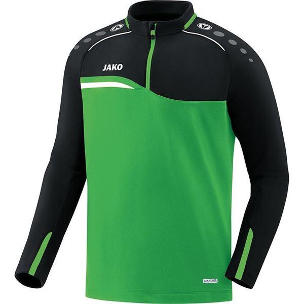 Afbeelding van JAKO Competition Ziptop - Groen - Zwart