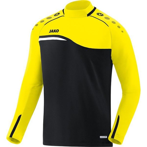 Afbeelding van JAKO Competition Sweater - Zwart - Geel - Kinderen