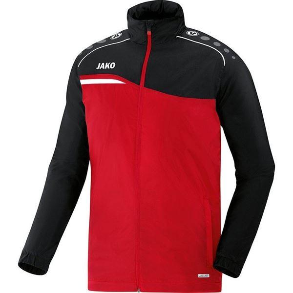 Afbeelding van JAKO Competition Regenjas - Rood - Zwart