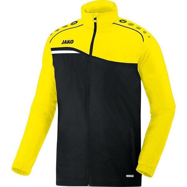 Afbeelding van JAKO Competition Regenjas - Zwart - Geel