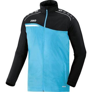 Afbeeldingen van JAKO Competition Regenjas - Lichtblauw - Zwart