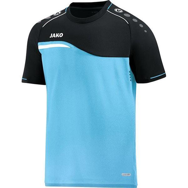 Afbeelding van Jako Competition Shirt - Lichtblauw - Zwart - Kinderen