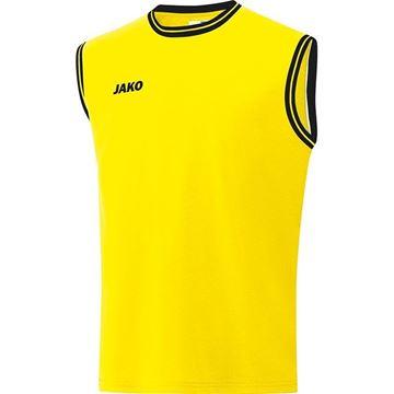 Afbeeldingen van JAKO Center 2.0 Basketbal Shirt - Geel/Zwart