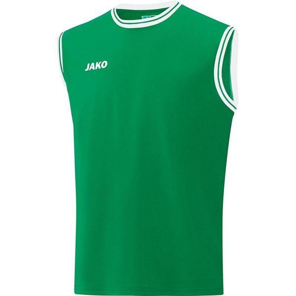 Afbeelding van JAKO Center 2.0 Basketbal Shirt - Groen/Wit