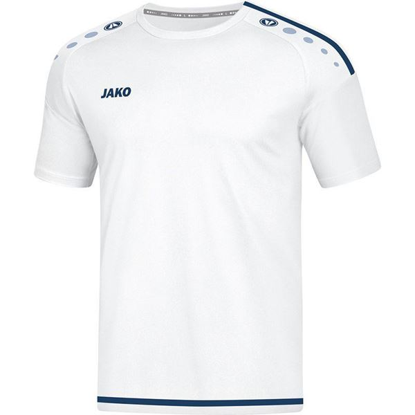 Afbeelding van JAKO Striker 2.0 Shirt - Wit/Blauw - Kinderen