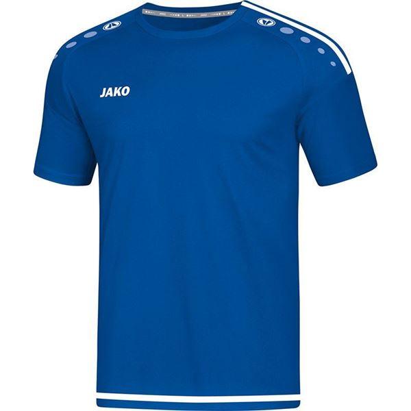 Afbeelding van JAKO Striker 2.0 Shirt - Blauw/Wit