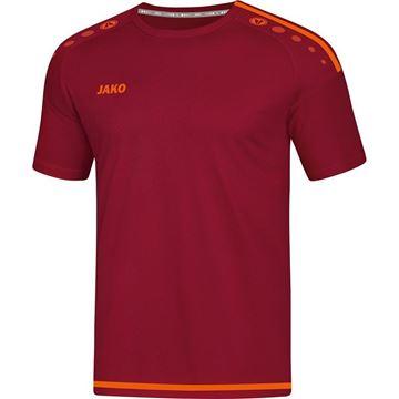 Afbeeldingen van JAKO Striker 2.0 Shirt - Rood/Oranje