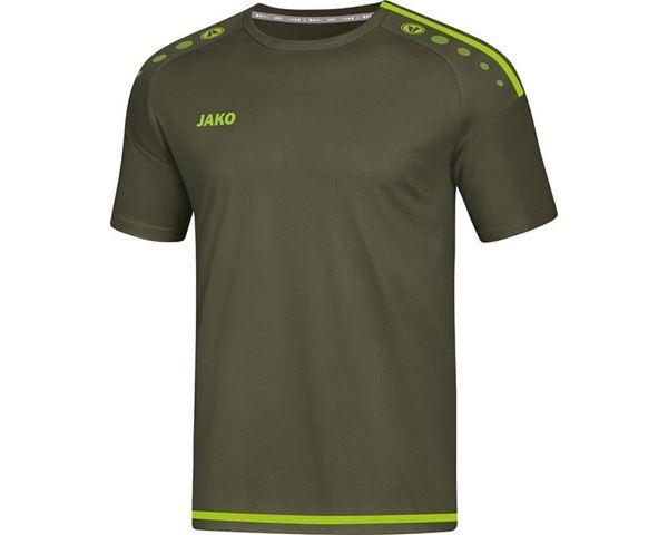 Afbeelding van JAKO Striker 2.0 Shirt - Zwart/Gifgroen