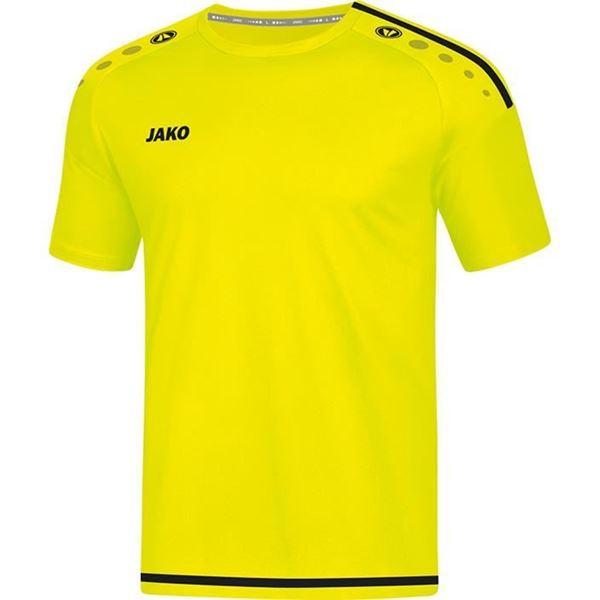 Afbeelding van JAKO Striker 2.0 Shirt - Geel/Zwart
