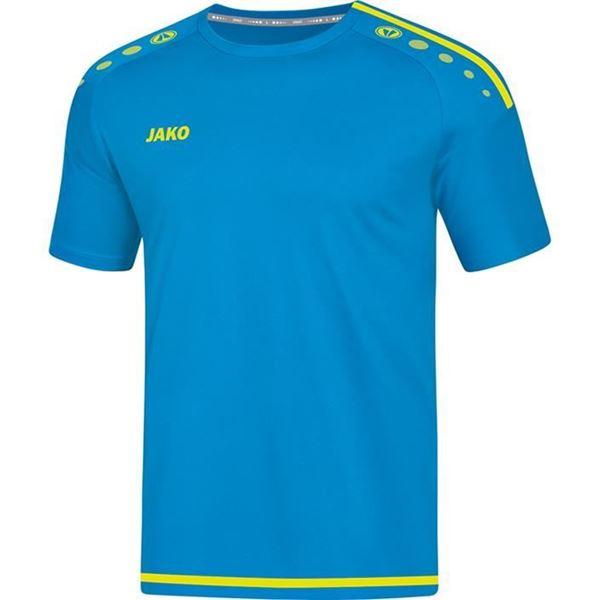 Afbeelding van JAKO Striker 2.0 Shirt - Blauw/Geel