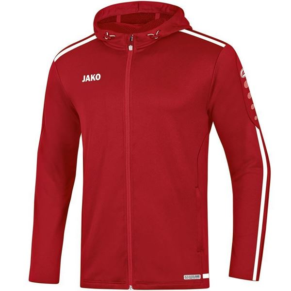 Afbeelding van JAKO Striker 2.0 Hooded Trainingsjack - Chili Rood/ Wit