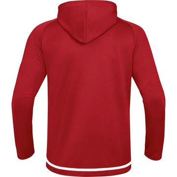 Afbeeldingen van JAKO Striker 2.0 Hooded Trainingsjack - Chili Rood/ Wit