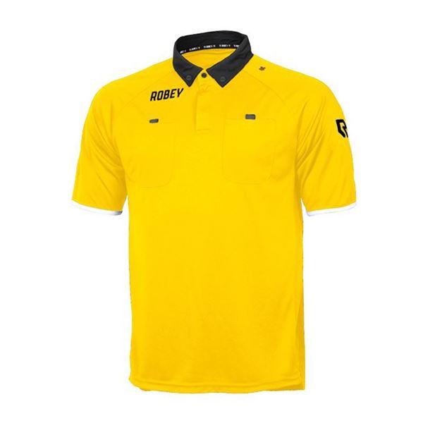 Afbeelding van Robey Referee Scheidsrechter Shirt - Geel