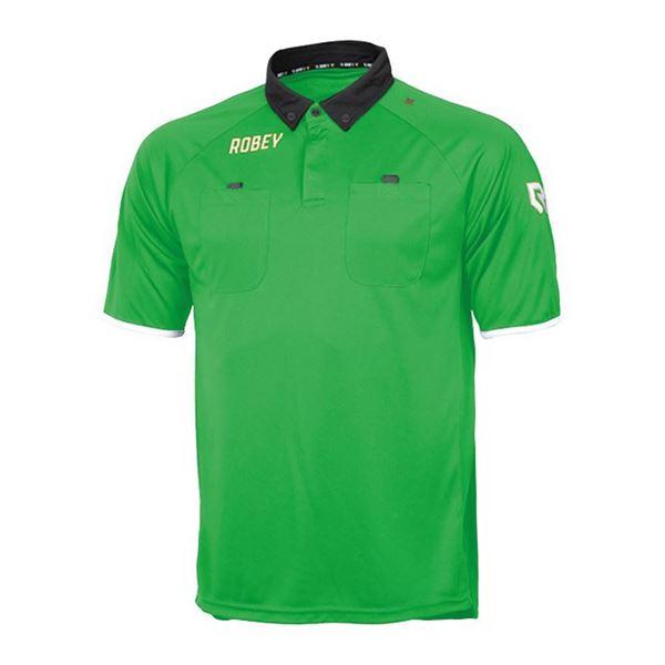 Afbeelding van Robey Referee Scheidsrechter Shirt - Groen