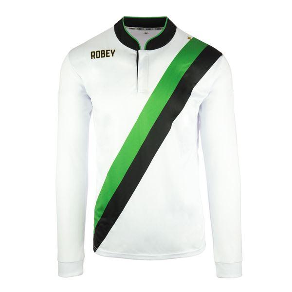 Afbeelding van Robey Anniversary Voetbalshirt - Wit (Lange Mouwen)