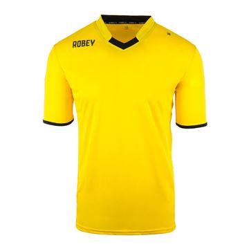 Afbeeldingen van Robey Hattrick Voetbalshirt - Geel