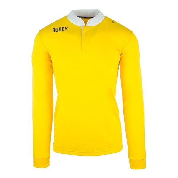 Afbeelding van Robey Kick Off Shirt Voetbalshirt - Geel (Lange Mouwen)