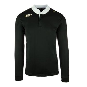 Afbeeldingen van Robey Kick Off Voetbalshirt - Zwart(Lange Mouwen)