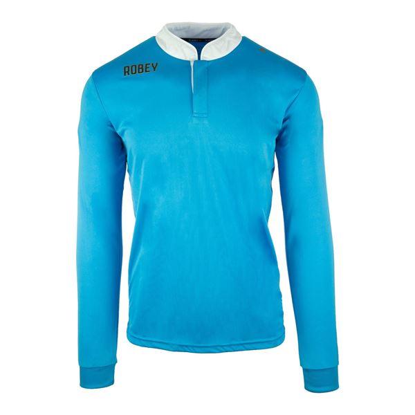 Afbeelding van Robey Kick Off Voetbalshirt - Licht Blauw (Lange Mouwen)