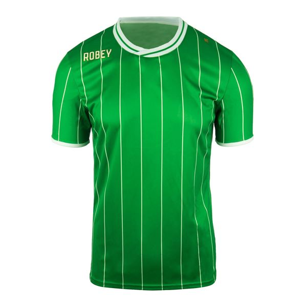 Afbeelding van Robey Pinstripe Voetbalshirt - Groen