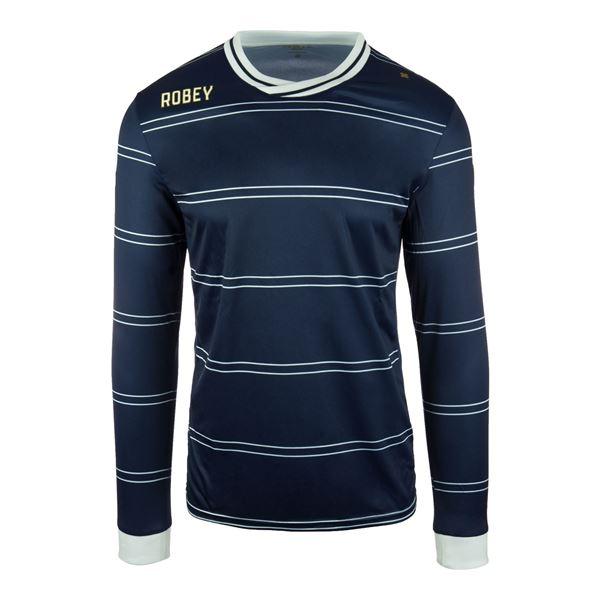 Afbeelding van Robey Sartorial Voetbalshirt - Navy Blauw (Lange Mouwen)
