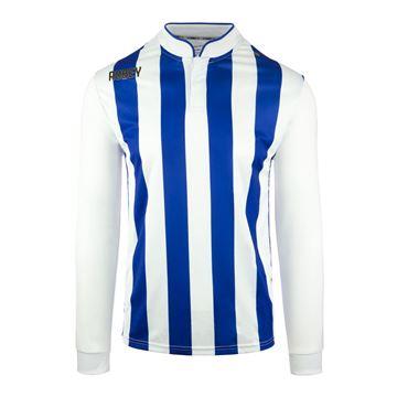 Afbeeldingen van Robey Winner Voetbalshirt - Blauw/ Wit (Lange Mouwen)