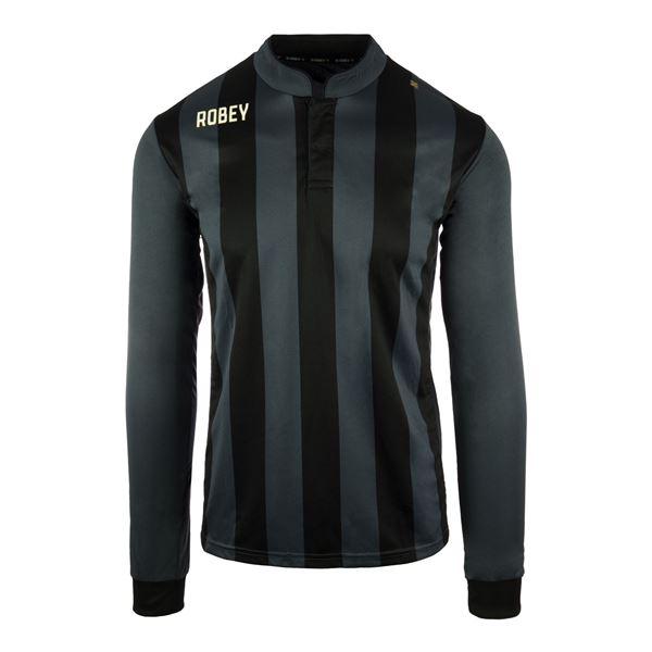Afbeelding van Robey Winner Voetbalshirt - Zwart (Lange Mouwen)