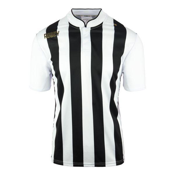 Afbeelding van Robey Winner Voetbalshirt - Zwart/ Wit