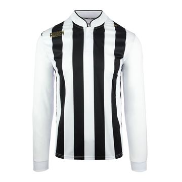 Afbeeldingen van Robey Winner Voetbalshirt - Zwart/ Wit (Lange Mouwen)