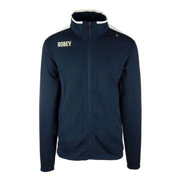 Afbeeldingen van Robey Performance Trainingsjack - Navy Blauw/Wit